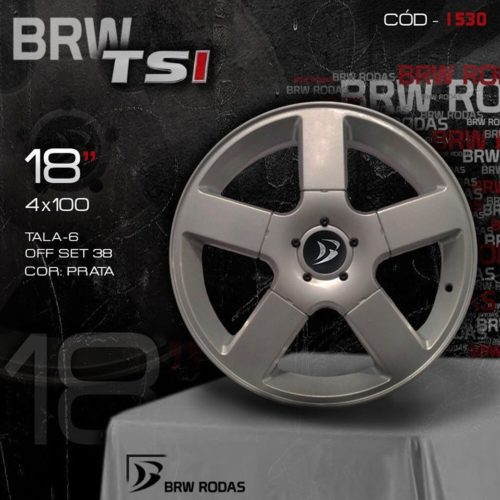 RODA VW GOL GTI G3 BRW TSI 1530 ARO 18